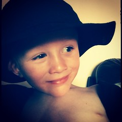 My son dresses like Indiana Jones... (nathanrobinson2) Tags: india cute hat funny play harrisonford dressup son indianajones templeofdoom instagram uploaded:by=flickstagram instagram:photo=789173537337508299184137303