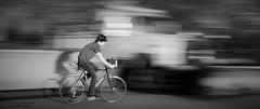 Casting A Shadow (disgruntledbaker1) Tags: shadow bw bike nikon panning ndfilter d90 14sec disgruntledbaker