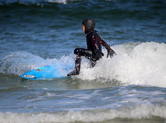 A young surfer takes a tumble (apardavila) Tags: surfing surfers jerseyshore atlanticocean manasquan manasquanbeach