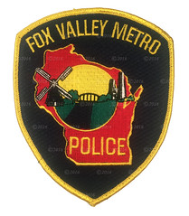 Fox Valley Metro Patch (Nate_892) Tags: county green wisconsin bay coin conservation police grand valley badge fox milwaukee waukesha sheriff patch tribe sheboygan gresham wi chute challenge swat oneida outagamie