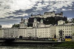 Castle of Salzburg (szlavid) Tags: city urban building salzburg architecture austria spring nikon d7000