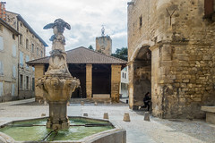 20160423 Provence, France 02580 (R H Kamen) Tags: france fountain architecture medieval vaucluse perneslesfontaines pernes buildingexterior provencealpesctedazur rhkamen