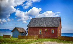 Summer Colors (vamp8888) Tags: summer house canada colors clouds canon colours quebec gaspesie 6d