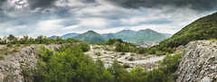 30042016-IMG_2975 (Nicola Pezzoli) Tags: sky panorama mountain nature bike clouds forest mood path panoramic pit moto cave motocross circuit bergamo pradalunga