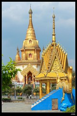 DP1U7123 (c0466art) Tags: trip travel blue light sky cloud tower water beautiful festival canon temple golden scenery bright buddha chinese spill 2016 1dx c0466art