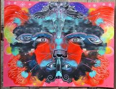 Guardian of the Eternal Fire - 2016 (KipikArt) Tags: red canada hot cold ice fire energy god spirit flame chi myth ki guardian mythical kipik