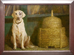 Kleberg by Jamie Wyeth 1984, Oil on Canvas. Denver Art Museum, Andrew and Jamie Wyeth in the Studio (Travel to Eat) Tags: wyeth jamiewyeth