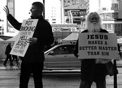 weed or jesus? (evangelosipsas1) Tags: toronto weed 420 dundassquare 420toronto