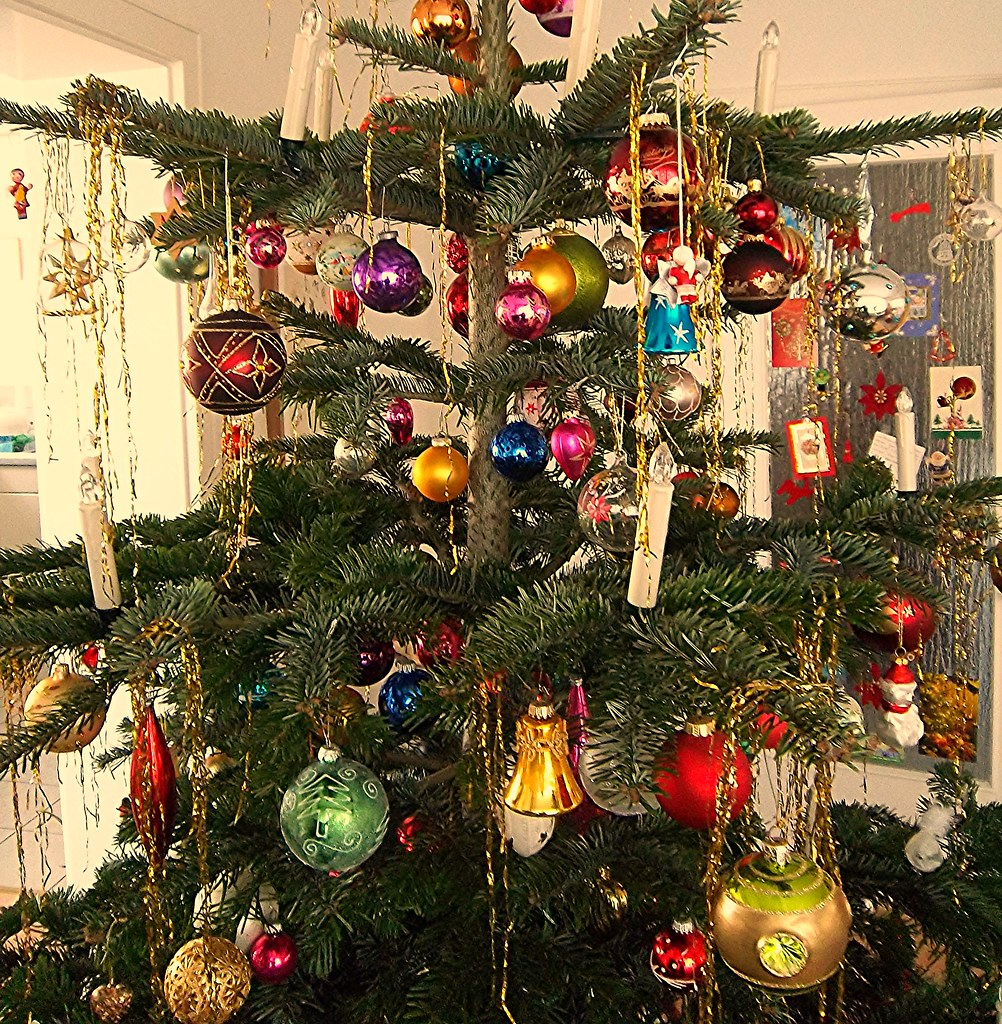 Tannenbaum Glaskugeln.The World S Newest Photos Of Kerzen And Lametta Flickr Hive Mind