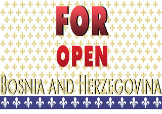 FOR OPEN BOSNIA AND HERZEGOVINA