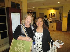 Bonnie Harken and Dr. Seda Ebrahim