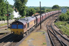 DB Schenker Class 66/0 66011 - Barnetby (dwb transport photos) Tags: shed db locomotive schenker barnetby 66011