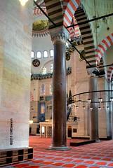 Interior of Sleymaniye Mosque (Christopher M Dawson) Tags: travel building art tourism architecture turkey nikon muslim islam religion istanbul mosque historic international tiles dawson sleymaniye constantinople mimarsinan sleymaniyecamii mosque sleymaniye cmdawson 2015
