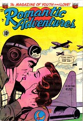 Romantic Adventures 26 (Michael Vance1) Tags: woman man art love comics artist marriage romance lovers dating comicbooks relationships cartoonist silverage