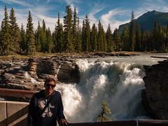 Athabasca Falls (Steve AM) Tags: albertacanada alberta jasperalberta athabascafalls athabasca falls jaspernationalpark asper national park canada canadianrockies rockies canadian rockymountains moosetour summer2013 northamerica waterfall