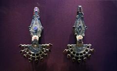 Merovingian Fibulae, 500-550 C.E.