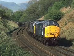 DRS vice EWS (goremirebob) Tags: trains coal tractors railways freighttrain drs gsw ews class37
