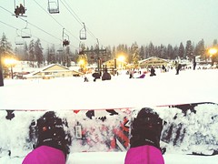 First time playing snowboard ( Ginny Le ) Tags: snow snowboarding firsttime ginny bigbear snowvalley ginnyle iphone5s firsttimeplayingsnowboard