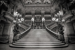 le grand escalier (alouest225) Tags: blackandwhite paris france monochrome stairs nikon opera noiretblanc d750 opra intrieur escaliers palaisgarnier opragarnier inexplore