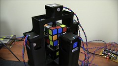 Rubik's Cube Solving Robot Does it in Under 1 Second (comicconsociety) Tags: nerd robot geek puzzle robotics rubiks rubikscube