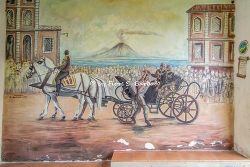 Savoia di Lucania (PZ), 2016, Murales che ricorda l'attentato a Umberto I.