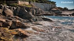 The secret Gate (Pistolero79) Tags: longexposure seascape gate rocks mare filter nd hdr portone scogli lungaesposizione filtri sainttropex costaazzurracoteazur