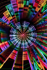 Rotating and spinning (- Hob -) Tags: longexposure lightpainting rainbow colorful zoom multicoloured mandala led colourful nophotoshop multicolor nopostprocessing addressable singleexposure entoptic 7992 sooc pixelstick camerarotationtool