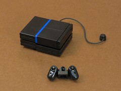 Game On! (Grantmasters) Tags: lego micro moc ps4 belville