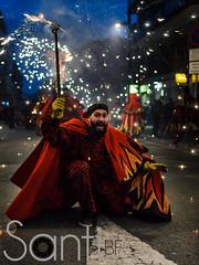 correfocs amb emoció (Santi BF) Tags: calle carnaval carrer correfocs ripollet
