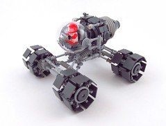 Rover SCP-1 (_TrapleS_) Tags: car wheel lego space engine cockpit galaxy future scifi spaceman vehicle exploration cosmonaut afol roverscp1