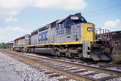8423-Martinsburg09031990 (DJ Witty) Tags: railroad train rr wm bo freight westernmaryland csx emd 7472 sd40 chessiesystem dieselelectric