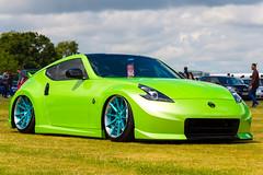 370z (technodean2000) Tags: show green car nikon nissan wheels silverstone modified lowered trax lightroom d610 370z