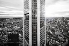 II (jamiemonsteroo) Tags: city blackandwhite bw building tower architecture skyscraper buildings high frankfurt commerzbank 500px ifttt