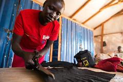 Refugees in South Sudan (Albert Gonzalez Farran) Tags: southsudan refugee refugees development unhcr drc asylumseeker unitystate ajuongthok vocacionaltraining