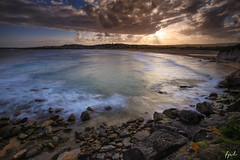 Northern Beaches (FPL_2015) Tags: ocean sunset seascape water landscape rocks sydney australia northernbeaches northcurlcurl leefilter nd18 canon6d gnd09 canon1635f4lis