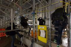 monkeys (berlin 101) Tags: urban london construction scaffolding trespass exploration ue recreational