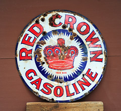 Strawberry, CA - Lincoln Hwy - Red Crown Gasoline (tonopah06) Tags: california ca sign forest strawberry garage eldorado national us50 highway50 1965 lincolnhighway eldoradonationalforest standardoilcompany redcrowngasoline strawberryvalley oldstrawberry