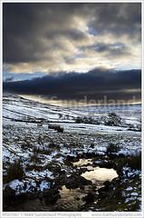Last Light in Wharfedale (© Mark Sunderland www.marksunderland.com) Tags: greatbritain travel winter sunset england sunlight snow clouds landscape nationalpark stream europe britishisles beck unitedkingdom britain dusk yorkshire northyorkshire cray wharfedale yorkshiredales northernengland