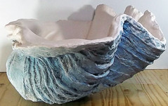 Giant Blue Clam Shell 1 (LittleGems AR) Tags: ocean blue sea sculpture sun beach home giant bathroom shower aquarium soap sand bath hand sink natural contemporary unique decorative aquamarine shell craft style toilet towel clam basin special clean shampoo taps wash seashell pearl nautical reef decor spa gems luxury opulent gem fossils clamshell mollusks cloakroom bespoke tridacna sculpt crafted gigas facetowel