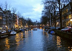 (Alain Proviste) Tags: amsterdam canal dusk grachten amstel