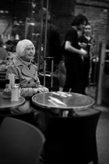 Lonely (Chris Goodacre) Tags: street london monochrome nikoncoolpixs9100 chrisg35mm