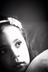 Only you can stop the pain (Karoline Bastos Acervo) Tags: girls light portrait blackandwhite bw baby black love girl beauty face kids dark hair children bigeyes photo blackwhite kid amazing nikon toddler pretty alone photographer child sad close emotion sweet pb babygirl littlegirl garota lonely feeling menina littleprincess cutebaby darkphotography mistery garotinha 4yearsold childphotography kidphotography darkeyes braziliangirl sweetthings effy nikonworld nikonphotography brazilianchild d7000 outcolor effyb