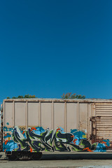 HAMR (Electric Funeral) Tags: railroad art digital train canon photography graffiti midwest nebraska paint railway iowa fremont kansascity railcar missouri lincoln kansas traincar omaha boxcar graff aerosol freight desmoines freighttrain rollingstock councilbluffs benched benching xti hamr freighttraingraffiti fr8train olue fr8heaven