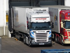 SN16 NXC (Cammies Transport Photography) Tags: centre transport tesco welch fowler livingston distribution scania nxc jhp r450 sn16 sn16nxc