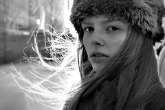 Blowing in the wind (plot19) Tags: uk family portrait england blackandwhite white english love manchester photography blackwhite northwest olivia britain north daughter salfordquays teenager liv british northern salford girlpotrait plot19