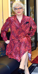 Ingrid021560 (ibach411) Tags: dress skirt mature pleated kleid faltenrock