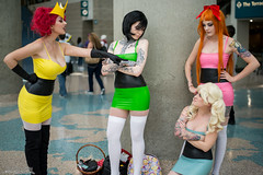 WonderCon 2016 (Dvann562) Tags: cosplay wc powerpuffgirls ppg cartoonnetwork wondercon wondercon2016 wc2016