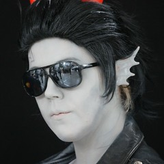 2015-03-14 S9 JB 87453#coQ4 (cosplay shooter) Tags: anime comics comic cosplay manga leipzig cosplayer rollenspiel roleplay lbm 100x leipzigerbuchmesse homestuck thesignless cronusampora 2015043 x201603 id058172 daisukeelric 2015167