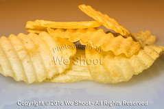 Rippled Potato Chips (weeviltwin) Tags: food macro junk eating ripple chips crisp eat potato crisps snack rippled wavy weshootcom