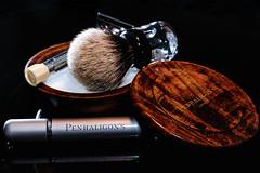 Good Morning (koolandgang) Tags: soap perfume indoor brush closeshave penhaligons classicshaving wetshave nikond700 nikon105vrmicro merkurprogress nikonsb900 nikonsb700 penhaligonsbayolea thater491250